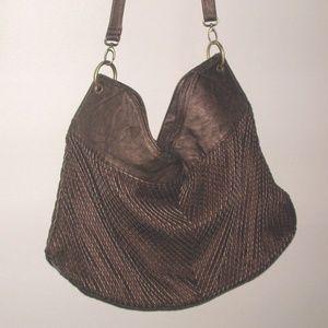 Samoe Handbag Purse Bronze